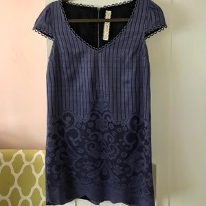 Free People Periwinkle/Blue Shift Dress